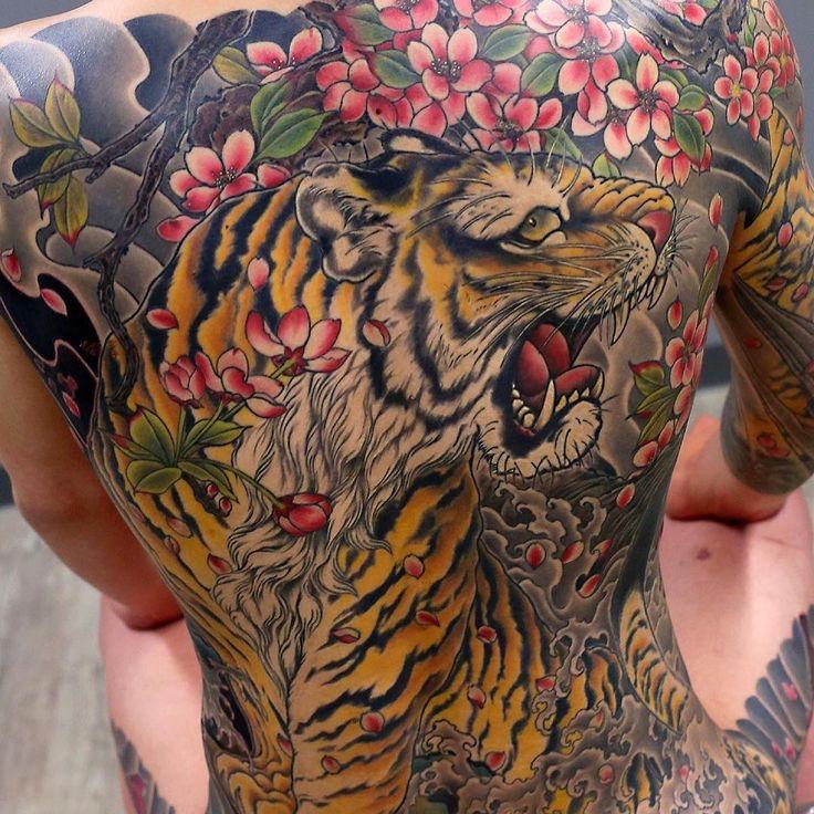 Irezumi Tiger