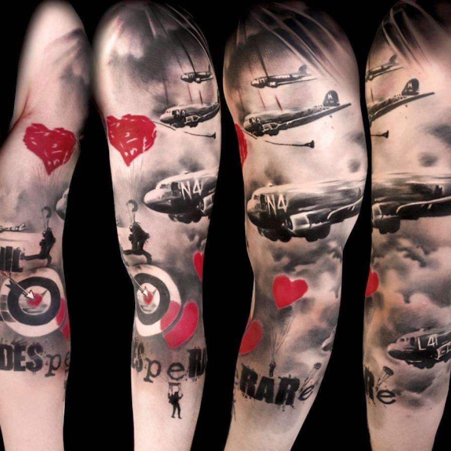 Kick Ass Tattoo Ideas Trash Polka Tattoo Style Kickassthings pertaining to Trash Polka Tattoo