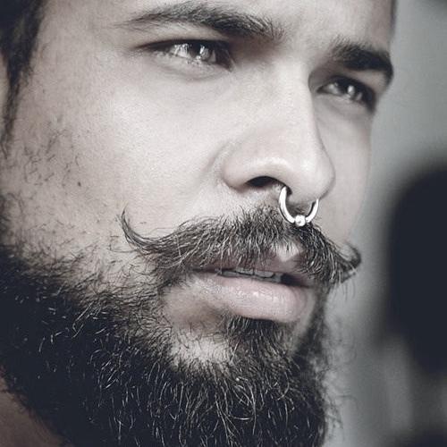Septum & Moustache