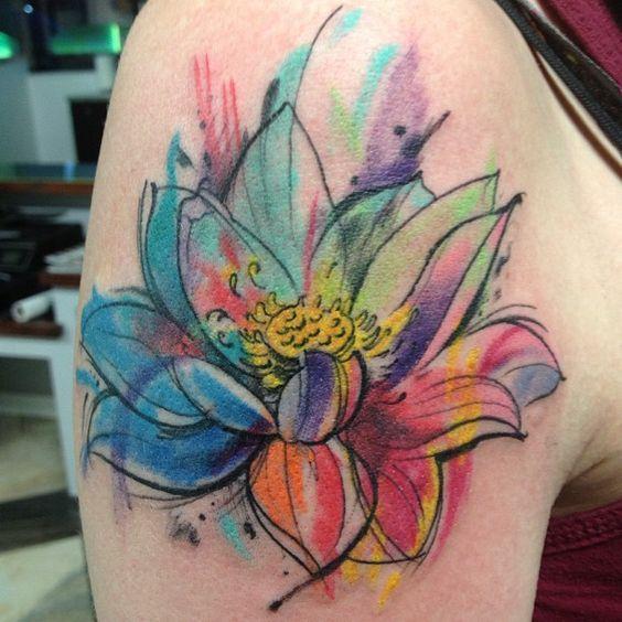 Sketched Lotus